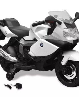 BMW 283 Elektrisk Motorcykel til børn, Hvid 6 V