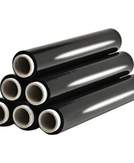 vidaXL pallefilmruller 6 stk. 17 µm 1,5 kg sort